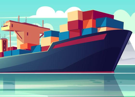 Transport marítim granel i càrrega general. Transport aeri i courier